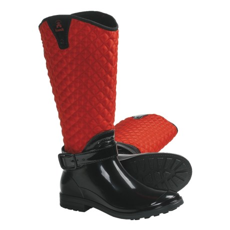 Kamik Alexandra Boots - Insulated, Fleece Lining (For Women) in Red