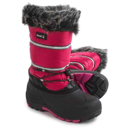 Kamik Amarok Pac Boots - Insulated (For Little and Big Kids) in Rose - Closeouts