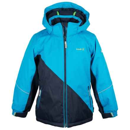 Kamik Aria Block Jacket - Waterproof, Insulated (For Big Girls) in Cyan - Closeouts