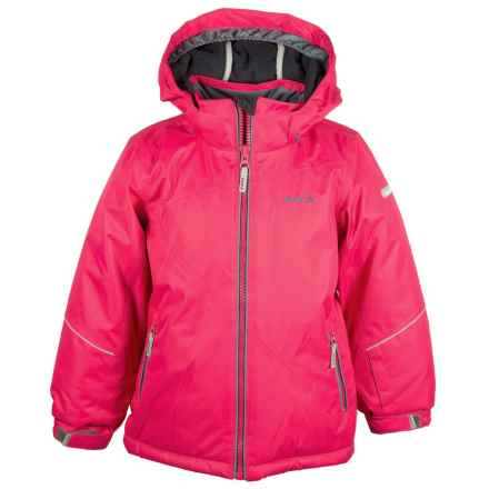 Kamik Aria Solid Jacket - Insulated (For Toddler Girls) in Cerise - Closeouts
