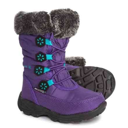 Kamik Ava Pac Boots - Waterproof, Insulated (For Toddler Girls) in Purple - Closeouts