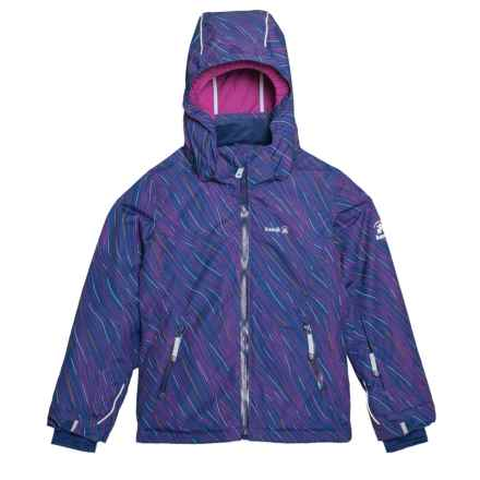 Kamik Avalon Luna Ski Jacket - Waterproof, Insulated (For Little and Big Girls) in Navy - Closeouts