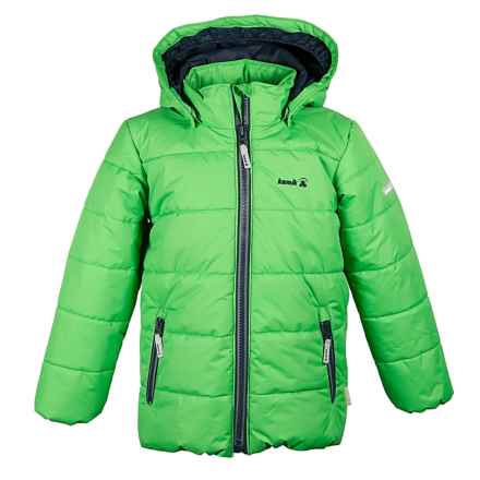 Kamik Avery Solid Jacket - Insulated (For Big Boys) in Classic Green - Closeouts