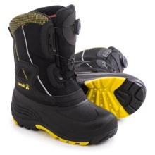 Kamik Backwood Pac Boots - Insulated (For Little and Big Kids) in Black - Closeouts