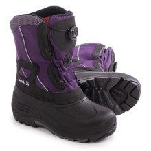 Kamik Backwood Pac Boots - Insulated (For Little and Big Kids) in Egg - Closeouts