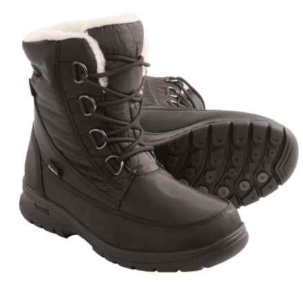 Kamik Baltimore Snow Boots - Waterproof, Insulated (For Women) in Black - Closeouts