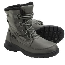 Kamik Baltimore Snow Boots - Waterproof, Insulated (For Women) in Charcoal - Closeouts