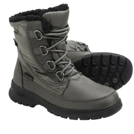 Kamik Baltimore Snow Boots - Waterproof, Insulated (For Women) in Charcoal