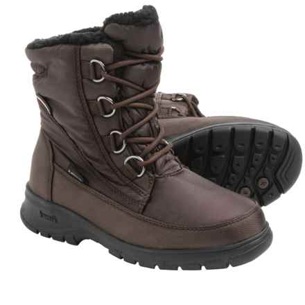 Kamik Baltimore Snow Boots - Waterproof, Insulated (For Women) in Dark Brown 2 - Closeouts