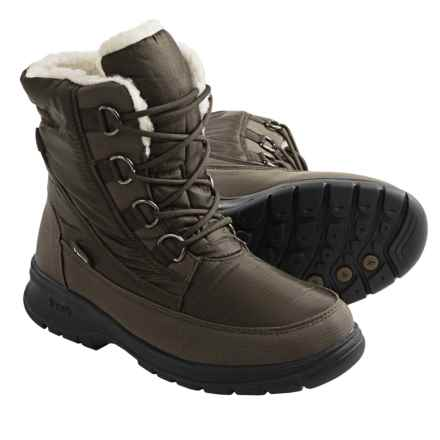 Kamik Baltimore Snow Boots - Waterproof, Insulated (For Women) in Dark Brown - Closeouts