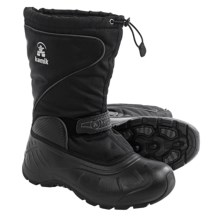 Kamik Baltoro2 Winter Pac Boots - Waterproof, Removable Liner (For Men) in Black 2 - Closeouts