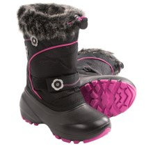 Kamik Bellissimo Pac Boots - Waterproof (For Youth Boys and Girls) in Black - Closeouts