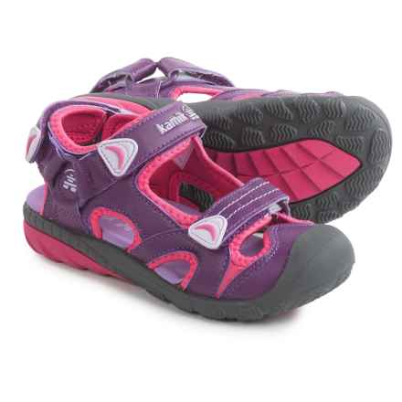Kamik Beluga Sport Sandals (For Little and Big Kids) in Purple - Closeouts