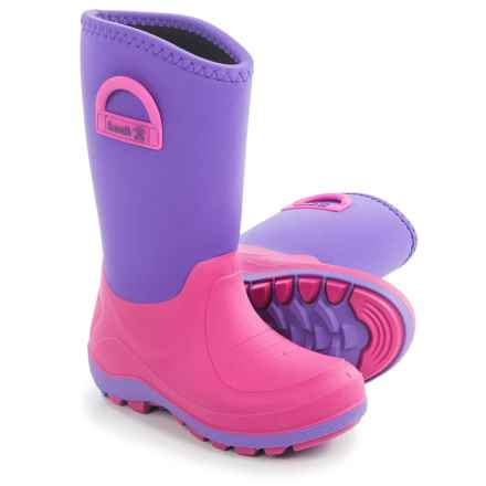 Kamik Bluster Snow Boots - Waterproof (For Little and Big Kids) in Lavender - Closeouts