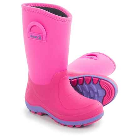 Kamik Bluster Snow Boots - Waterproof (For Little and Big Kids) in Magenta - Closeouts