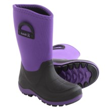 Kamik Bluster Snow Boots - Waterproof (For Little and Big Kids) in Purple - Closeouts