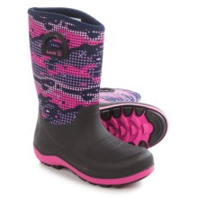 Kamik Bluster2 Rain Boots (For Little and Big Kids) in Navy/Magenta - Closeouts