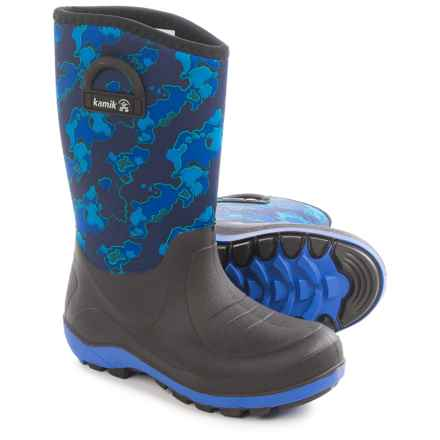 Kamik Bluster2 Rain Boots (For Little and Big Kids) in Navy - Closeouts