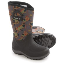 Kamik Bluster2 Rain Boots (For Toddlers) in Charcoal - Closeouts