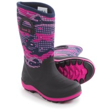 Kamik Bluster2 Rain Boots (For Toddlers) in Navy/Magenta - Closeouts