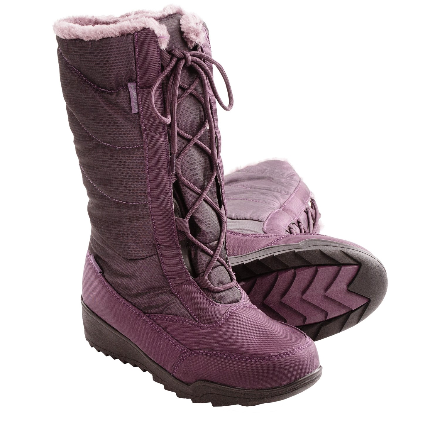 Perfect  Transit Boots  Waterproof Leather Tall For Women In Tobacco