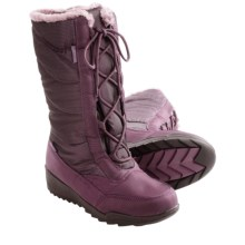 Kamik Bordeaux Snow Boots - Waterproof, Insulated (For Women) in Plum - Closeouts