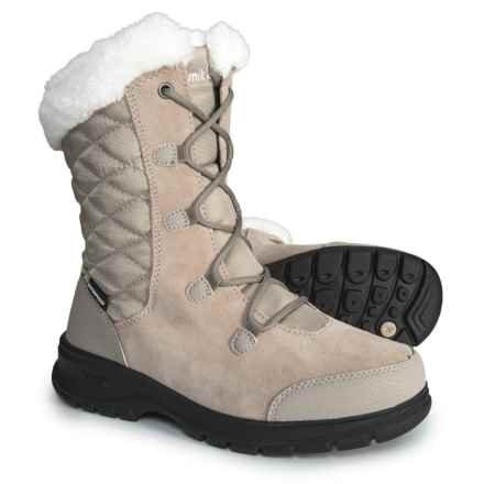 Kamik Boston 2 Snow Boots - Waterproof, Insulated (For Women) in Taupe - Closeouts