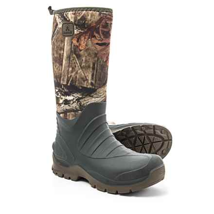 Kamik Bushman Rain Boots - Waterproof (For Men) in Camo - Closeouts