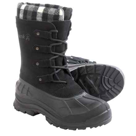 Kamik Calgary Pac Boots - Waterproof, Insulated (For Women) in Black - Closeouts