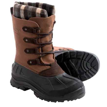 Kamik Calgary Pac Boots - Waterproof, Insulated (For Women) in Tan - Closeouts