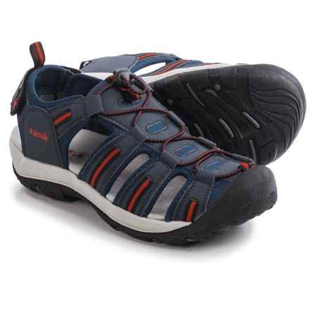 Kamik Capemay Sport Sandals (For Men) in Navy - Closeouts