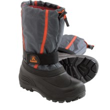 Kamik Carver Pac Boots (For Toddlers) in Charcoal - Closeouts