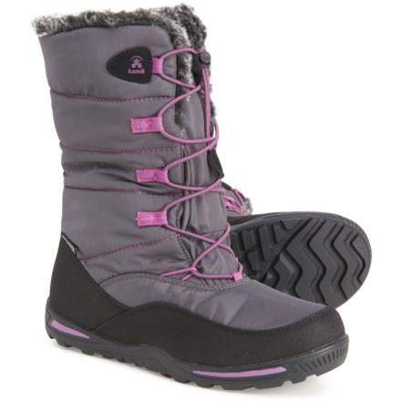 LGXH Little Kids Winter Snow Boots Non-Slip Comfort Toddler Girls Boys  Outdoor Waterproof Warm Shoes Girls Shoes