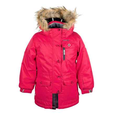 Kamik Cecilia Parka - Insulated (For Toddler Girls) in Cerise - Closeouts