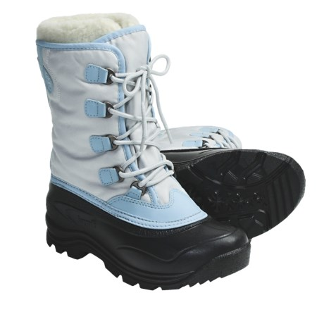 Kamik Celebrate Pac Boots - Waterproof, Insulated (For Women) in Ice