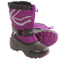 Kamik Champ Snow Boots - Waterproof (For Youth Boys and Girls) in Berry - Closeouts