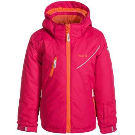 Kamik Chiara Ski Jacket - Insulated (For Little Girls) in Bright Rose - Closeouts