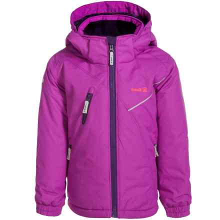 Kamik Chiara Ski Jacket - Insulated (For Little Girls) in Purple Cactus - Closeouts