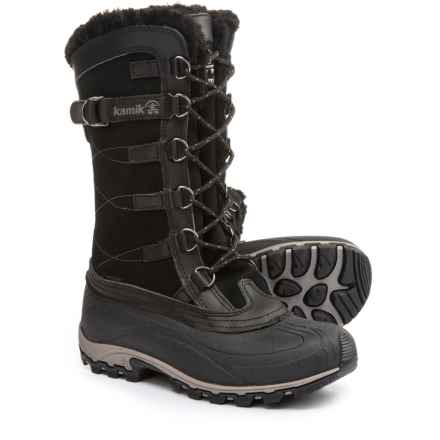 Kamik Citadel Pac Boots - Waterproof, Insulated (For Women) in Black - Closeouts