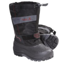Kamik Coaster Winter Boots - Waterproof, Insulated (For Youth Boys and Girls) in Black - Closeouts