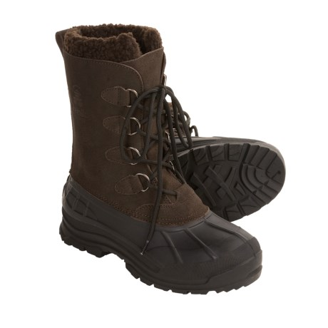 Kamik Conquest Winter Pac Boots (For Men) in Dark Brown