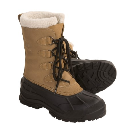 Kamik Conquest Winter Pac Boots (For Men) in Tan