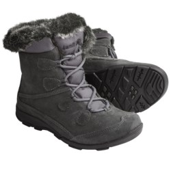Kamik Copenhagen Snow Boots - Waterproof, Insulated (For Women) in Charcoal