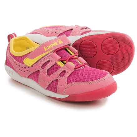 Kamik Cruiser Sneakers (For Little and Big Kids) in Dark Pink - Closeouts