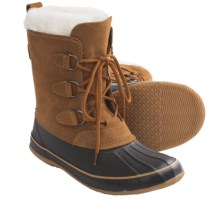 Kamik Damsel Winter Boots - Waterproof (For Women) in Cognac - Closeouts