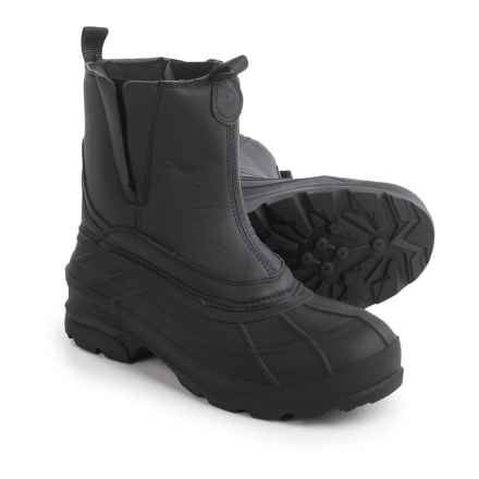 Kamik Dawson Pac Boots - Waterproof, Insulated (For Men) in Black - Closeouts
