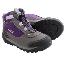 Kamik Daytrip Hiking Shoes (For Little Kids) in Purple/Violet - Closeouts