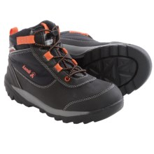 Kamik Daytrip Hiking Shoes - Waterproof, Insulated (For Big Kids) in Black - Closeouts