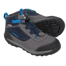 Kamik Daytrip Hiking Shoes - Waterproof, Insulated (For Big Kids) in Navy - Closeouts