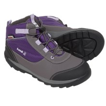 Kamik Daytrip Hiking Shoes - Waterproof, Insulated (For Big Kids) in Purple/Violet - Closeouts